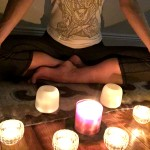 Centering by candlelight