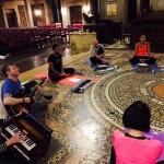Kirtan shared soul song circle