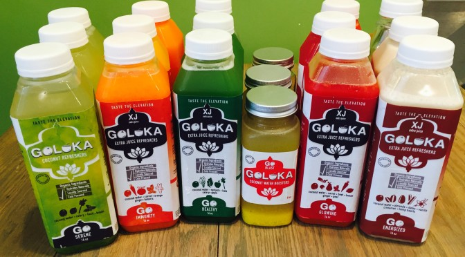 Goloka Juice and Smoothie Blends Coconut Refreshers