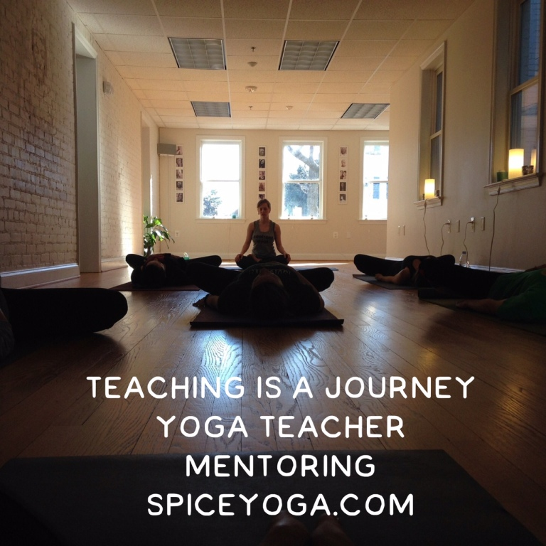 Yoga Teacher Mentoring with Spice Yoga