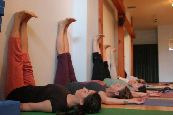 Viparita Karani is a deceptively basic yoga pose which is incredibly powerful for the nervous system and the body's vitality and energy levels.
