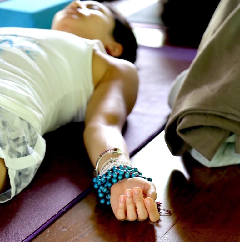 Body sensing, mala, meditation